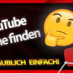 kanalname finden youtube